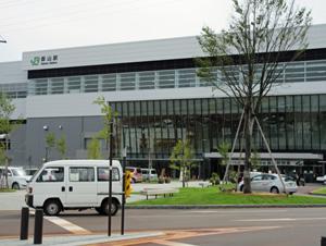 JR上越新幹線飯山駅
