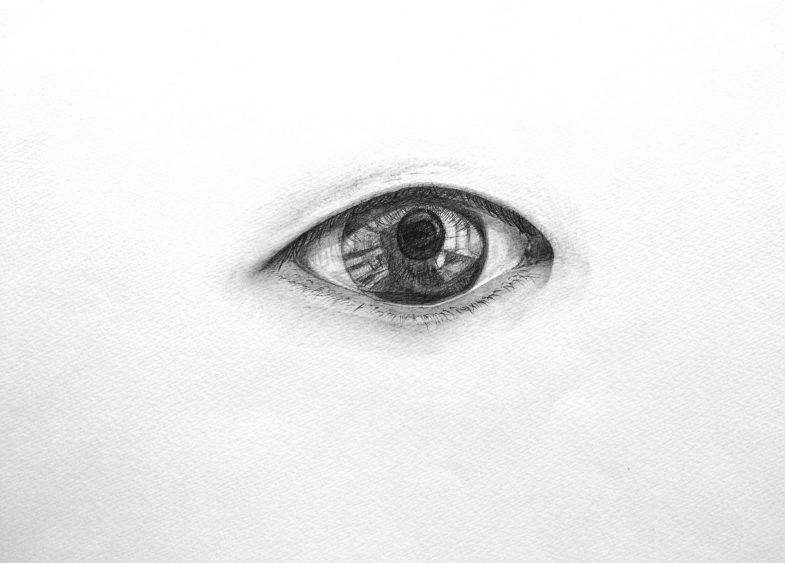 デッサン/画用紙に鉛筆/2012